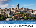 istanbul city skyline in turkey ... | Shutterstock . vector #1059738344