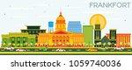 frankfort kentucky usa city... | Shutterstock .eps vector #1059740036