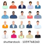 people icons  business  vector... | Shutterstock .eps vector #1059768260
