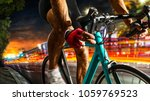 professional road bicycle racer ... | Shutterstock . vector #1059769523