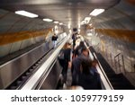 blurry motion image of people... | Shutterstock . vector #1059779159