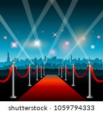 new york city movie red carpet... | Shutterstock .eps vector #1059794333