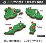 national soccer teams group b . ... | Shutterstock .eps vector #1059794564
