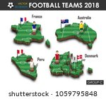 national soccer teams group c . ... | Shutterstock .eps vector #1059795848