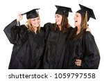 group of caucasian graduates in ... | Shutterstock . vector #1059797558