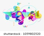 travel typographic poster.... | Shutterstock .eps vector #1059802520