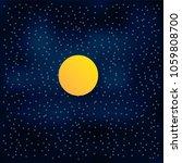 Vector Night Sky Background...