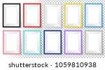 frames set. templates for your... | Shutterstock .eps vector #1059810938