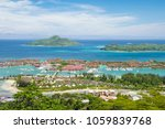 seychelles capital  victoria | Shutterstock . vector #1059839768