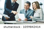 a successful business group... | Shutterstock . vector #1059842414