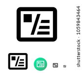 business cards icon for...   Shutterstock .eps vector #1059843464