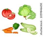 cartoon illustration of tasty... | Shutterstock .eps vector #1059846650