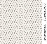 geometric seamless pattern.... | Shutterstock .eps vector #1059856970