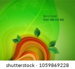 abstract nature background... | Shutterstock .eps vector #1059869228