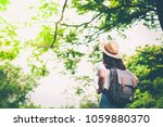 happy lifestyle portrait of a... | Shutterstock . vector #1059880370