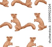 pattern of the forest squirrels | Shutterstock .eps vector #1059902204