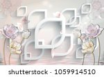3d abstraction background... | Shutterstock . vector #1059914510