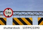 car height limiter at parking... | Shutterstock . vector #1059923390