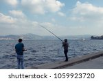 Two Fishermen By Bosphorus...