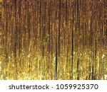 gold foil curtain | Shutterstock . vector #1059925370