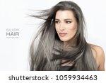 beauty portrait of an... | Shutterstock . vector #1059934463