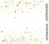 gold stars background frame... | Shutterstock .eps vector #1059944309