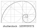 Golden Ratio Template Vector ...