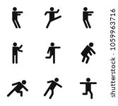 motion icons set. simple set of ... | Shutterstock . vector #1059963716