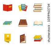 manual icons set. cartoon set... | Shutterstock . vector #1059963734