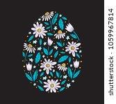 vector easter greeting card... | Shutterstock .eps vector #1059967814