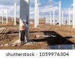 industrial civil engineer... | Shutterstock . vector #1059976304