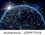 global network concept. 3d...   Shutterstock . vector #1059977018