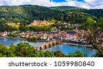landmarks of germany  ... | Shutterstock . vector #1059980840