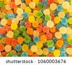 Gummies And Candies Background