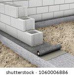 horizontal waterproofing when... | Shutterstock . vector #1060006886