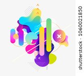 word   hello. colorful... | Shutterstock .eps vector #1060021850