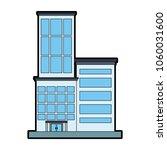 office building cartoon | Shutterstock .eps vector #1060031600