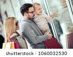 sale consumerism and people... | Shutterstock . vector #1060032530