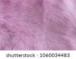 Pink Naturall Fur. Texture ...