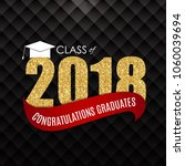 congratulations on graduation... | Shutterstock .eps vector #1060039694
