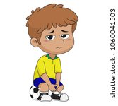 he was disappointed and regret... | Shutterstock .eps vector #1060041503