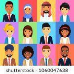 set of business icons.... | Shutterstock .eps vector #1060047638