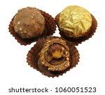 sweet food  three round...   Shutterstock . vector #1060051523