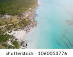 ruins of tulum  mexico  view of ... | Shutterstock . vector #1060053776