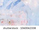 grunge painted wall texture... | Shutterstock . vector #1060062338