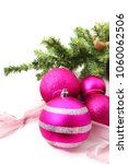 pink and purple christmas... | Shutterstock . vector #1060062506