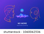 human voice recognition and... | Shutterstock .eps vector #1060062536