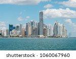 skyline of panama city   modern ... | Shutterstock . vector #1060067960
