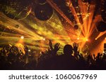 dj night club party rave with... | Shutterstock . vector #1060067969