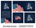 set horizontal  vertical ... | Shutterstock .eps vector #1060072934